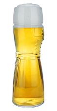 German Dirndl Beer Glass for Sale