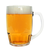 Bamberg Glass Beer Mug 0.5 Liter
