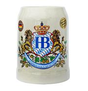 Hofbrauhaus .5L Stoneware Beer Mug