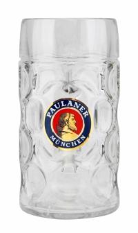 Oktoberfest Paulaner Glass Beer Mug for Sale