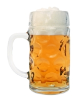 Personalized Dimpled Oktoberfest Beer Mug