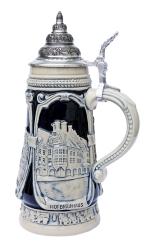 Oktoberfest Cobalt Beer Stein