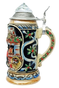 Santa Clause Beer Stein