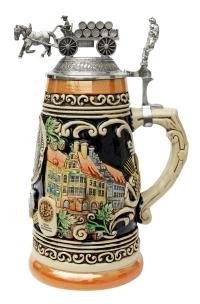 Authentic anniversary german beer stein