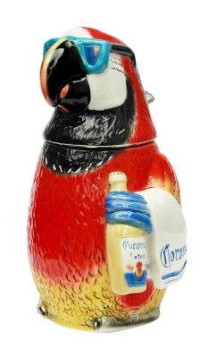 Unusual Quirky Beer Mug Corona Parrot