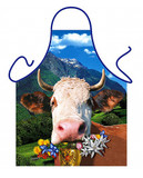 Alpine Cow Apron