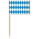 Bavarian Flag Accent Toothpick 50pk
