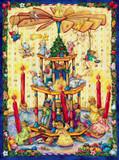 Bear Pyramid German Advent Calendar