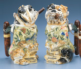 Bulldog Cigar Beer Stein