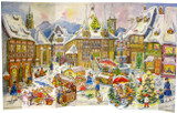 Christkindlmarkt 1958 Reproduction German Advent Calendar