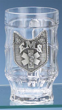 Personalized EMS Glass German Beer Stein