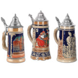 German Beer Stein Paper Cutout 3pk