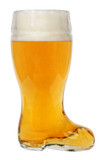 Glass Beer Boot 1 Liter