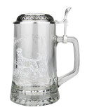Labrador Glass Beer Stein