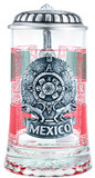 Mexico Glass Beer Stein