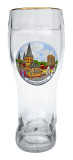 1 Liter Glass Beer Boot for Sale
