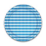 Oktoberfest Bavarian Flag Party Plate 8pk