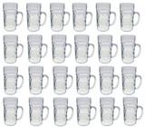Plastic Beer Mug 24 Pack 1 Liter