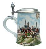 Rothenburg Porcelain Beer Stein