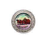Silver Oktoberfest Beerwagon Medallion