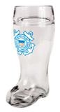 US Coast Guard Glass Beer Boot 1 Liter