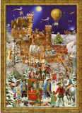Victorian Castle Rheinstein German Advent Calendar