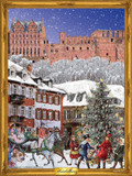 Victorian Heidelberg German Advent Calendar