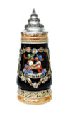 Kissing Couple German Beer Stein | 0.3 Liter