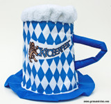 Bavarian Oktoberfest Party Beer Mug Hat