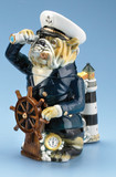 Sea Captain Bulldog Beer Stein