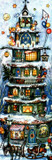 Christmas House 1959 Reproduction German Advent Calendar