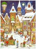 Town Square German Christmas Advent Calendar