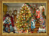 Victorian Christmas Morning German Advent Calendar