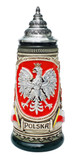 Polska Beer Stein Rustic