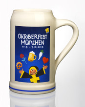 Official 2012 Munich Oktoberfest Stone Beer Mug