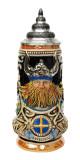 Sweden Viking Beer Stein