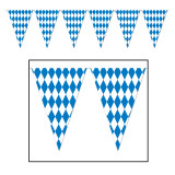 Oktoberfest Party Pennant Banner Large