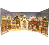 German Village 1946 Reproduction German Advent Calendar