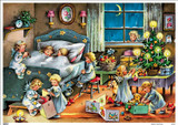 Night Before Christmas German Advent Calendar