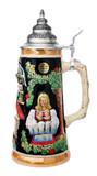 Bavarian Beer Garden Beer Stein
