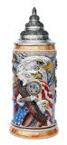 US Army Eagle of Freedom Beer Stein