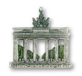 Berlin Brandenburg Gate German Pewter Christmas Ornament