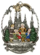 Authentic Handmade German Pewter Christmas Ornament