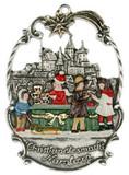 Nuremberg Christmas Market German Pewter Christmas Ornament