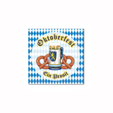 Oktoberfest Party Beverage Napkins 16pk