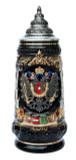Austria Coat of Arms Beer Stein