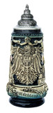Deutschland Eagle Panorama Beer Stein Cobalt