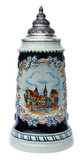 Braunschweig Souvenir Beer Stein Cobalt