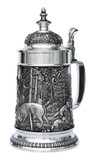 Hunters Pewter Beer Stein