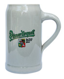 Pilsner Urquell Stoneware Beer Mug 1 Liter